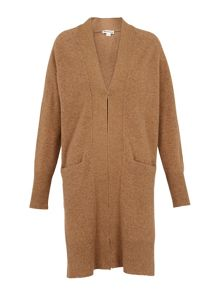 Whistles Boiled Wool Knit Cardigan