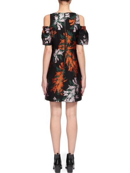 Whistles Gwyneth Jacquard Dress