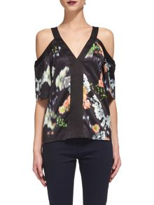 Whistles Aiko Print Top