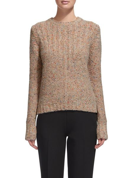 Whistles Donegal Rib Knit Sweater