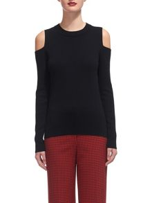 Whistles Cold Shoulder Knit