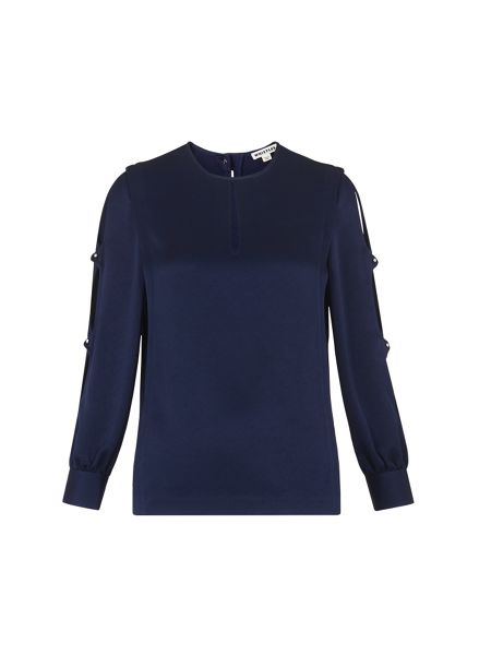 Whistles Robyn Open Arm Top