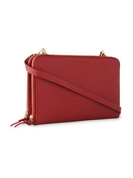 Whistles Union Double Zip Crossbody Bag