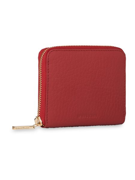 Whistles Bubble Leather Small Wallet