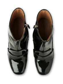 Whistles Ambrose Patent Loafer Boot