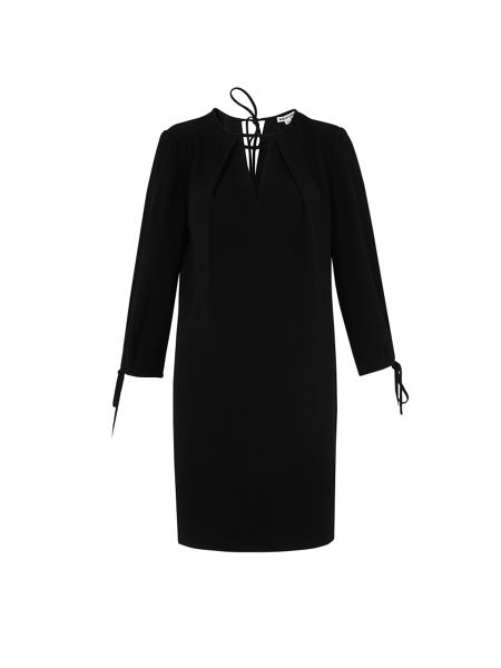 Whistles Lucia Tie Sleeve Dress