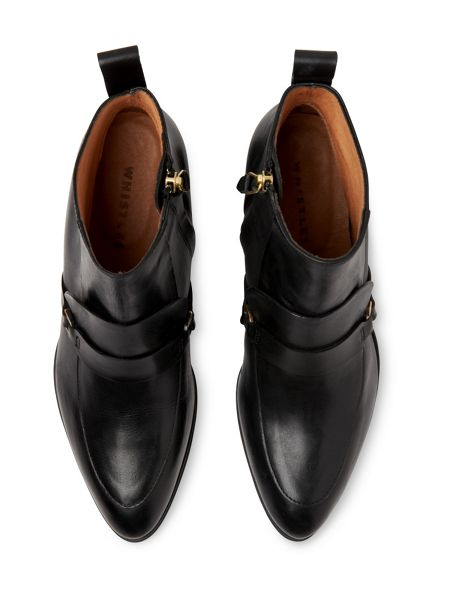 Whistles Century Saddle Loafer Boot