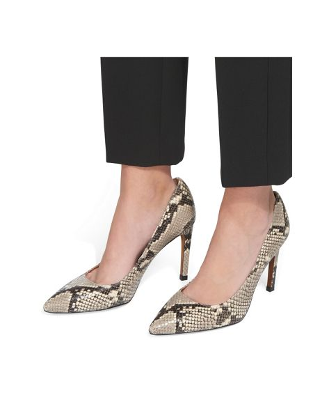 Whistles Cornel Snake Print Point Pump