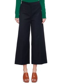 Whistles Tia Cotton Cropped Trouser