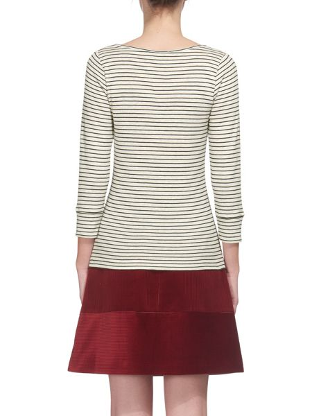 Whistles Stripe Cotton Modal Basic
