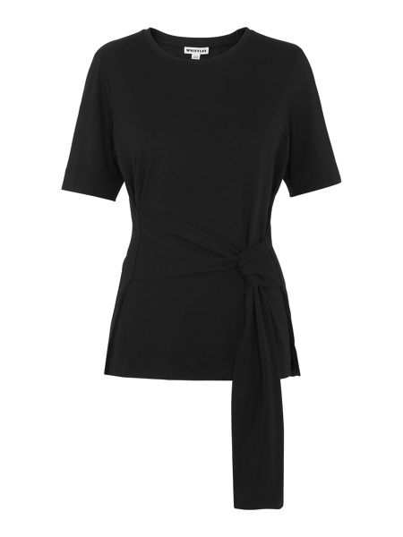 Whistles Side Tie T-shirt