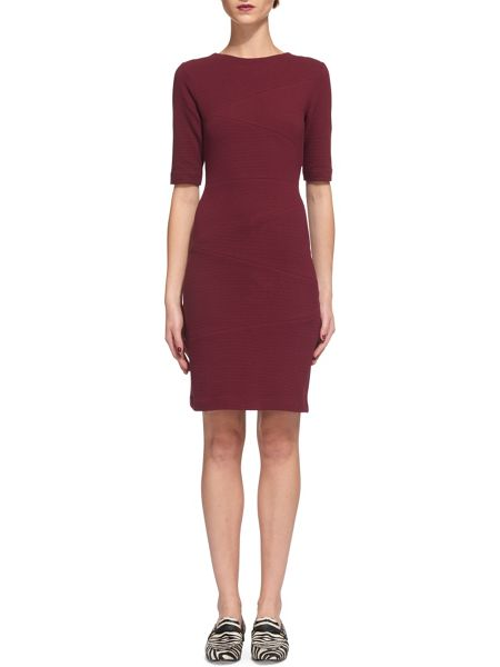 Whistles Kerry Ribbed Jersey Dress