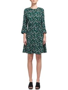 Whistles Francis Bell Flower Dress