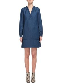 Whistles Jocelyn Denim Shirt Dress