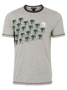 Whistles Bicycle Print T-Shirt