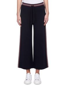 Whistles Estella Stripe Knitted Culotte