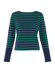 Whistles Stripe Long Sleeve T-shirt