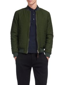 Whistles Quilted Cotton Bomber