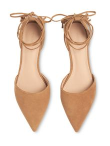 Whistles Arden Tassel Flat Point Shoe
