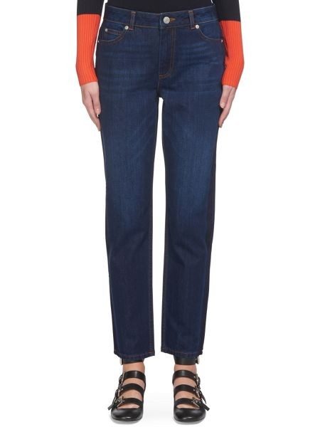 Whistles Side Panel Boyfriend Jean