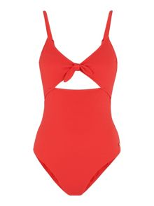 Whistles Pacific Tie Front Swimsuit