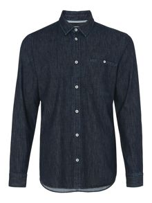 Whistles Utility Denim Shirt