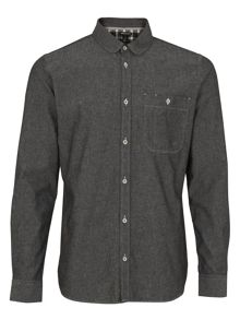 Whistles Chambray Round Collar Shirt