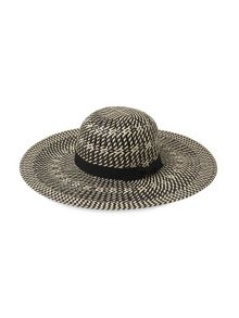 Whistles Interest Weave Sun Hat