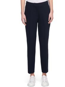 Whistles Jenner Stripe Slim Leg Trouser