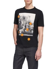 Whistles Palm Dot Printed T-Shirt