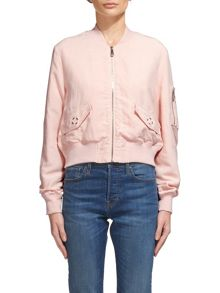Whistles Rudy Casual Bomber Jacket