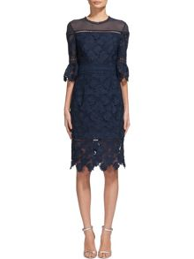 Whistles Amanda Lace Dress