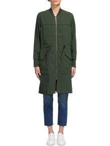 Whistles Longline Casual Jacket