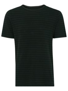 Whistles Overdye Stripe T-Shirt