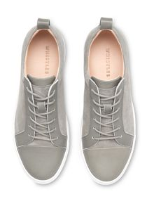 Whistles Kenley Suede & Leather Trainer