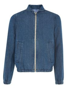 Whistles Denim Harrington
