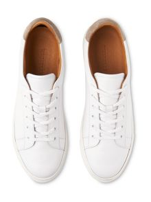 Whistles Low Top Leather Trainers