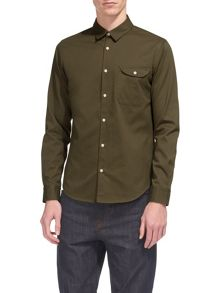 Whistles Cotton Twill Shirt