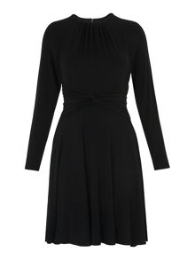 Whistles Celestine Plain Jersey Dress