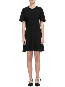 Whistles Connie Frill Hem Jersey Dress