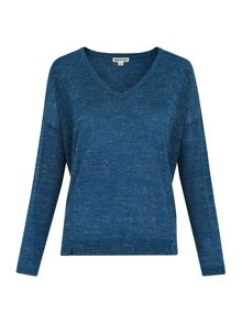 Whistles Crew Neck Relaxed Knit