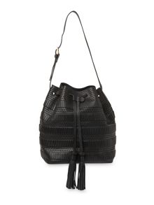 Whistles Palmdale Woven Bucket Bag