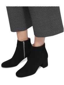 Whistles Logan Square Toe Ankle Boot