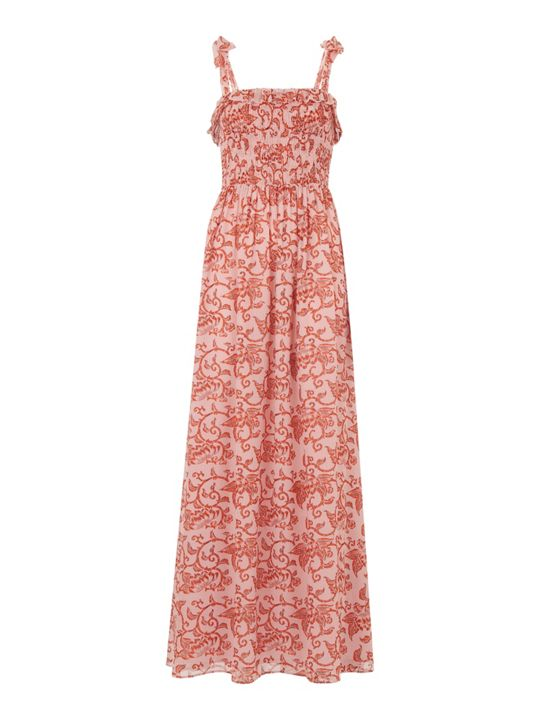 Whistles Bali print maxi dress