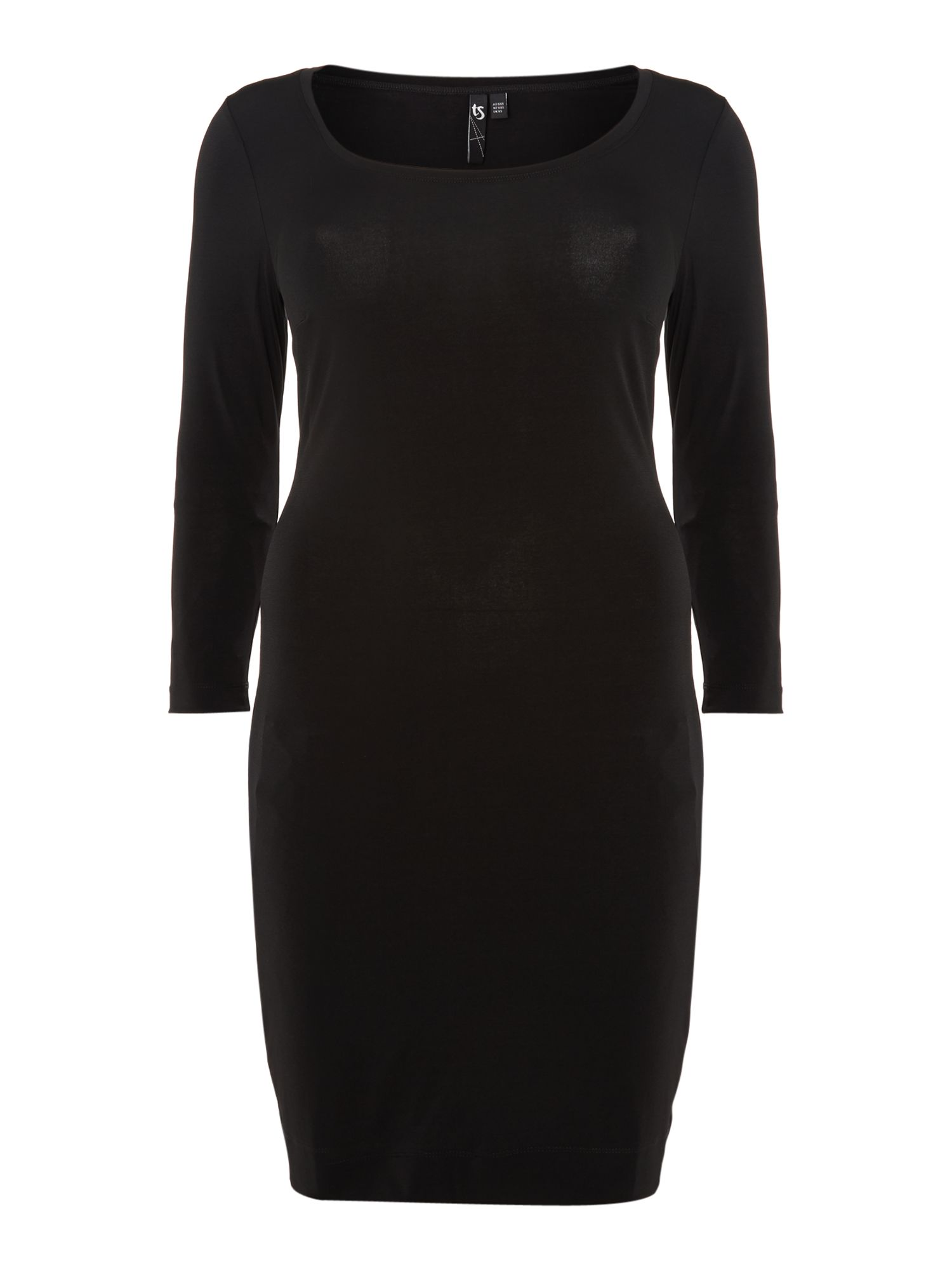 Luna long sleeve body dress