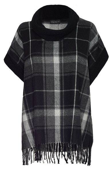 James Lakeland Check Kimono With Frill