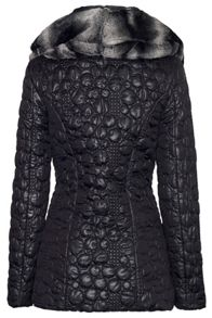 Circular Quilted Coat