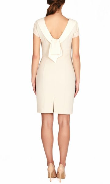 James Lakeland BOW DETAIL BACK DRESS