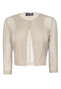 James Lakeland Lace Bolero With Button