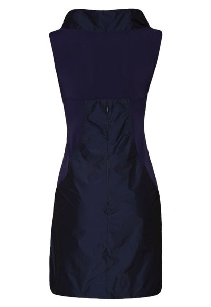James Lakeland Taffeta Seeveless Dress